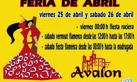 Feria de Abril (viernes 25 y sábado 26)