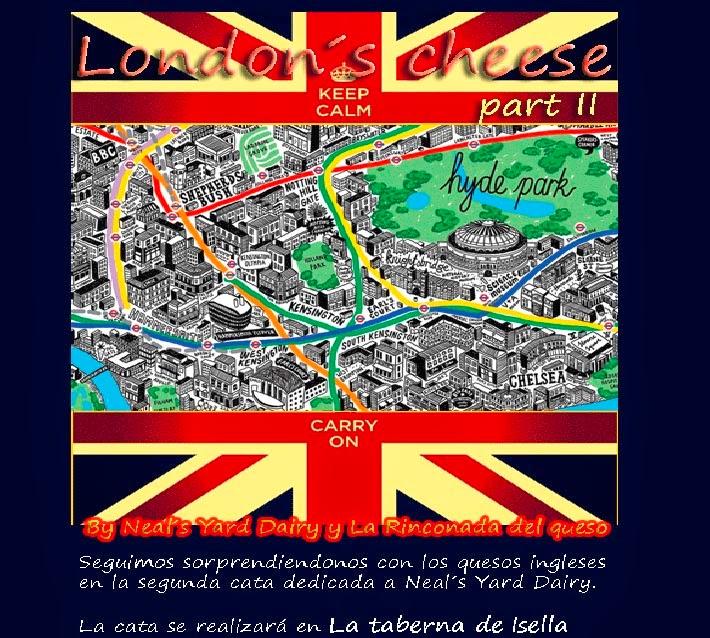 Cata de quesos británicos en Taberna Isella (viernes, 9 de mayo)