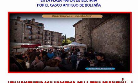 Feria de Boltaña (miércoles, 23)