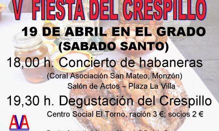 Fiesta del crespillo (sábado, 19)