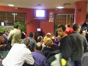 Cata de vino y papiroflexia en el bar El Fútbol (miércoles, 30)