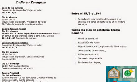 Cerveza india en Zaragoza (domingo, 13)