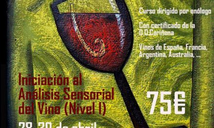 Curso de análisis sensorial del vino (del 28 al 30)
