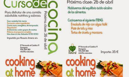 Curso de cocina (sábado, 26)
