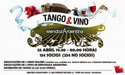 Malbec Word Day, cata y tangos (viernes, 25)