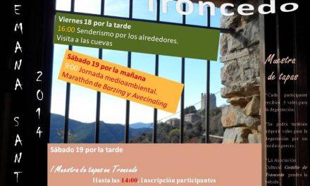 I Muestra de tapas de Troncedo (sábado, 19 de abril)