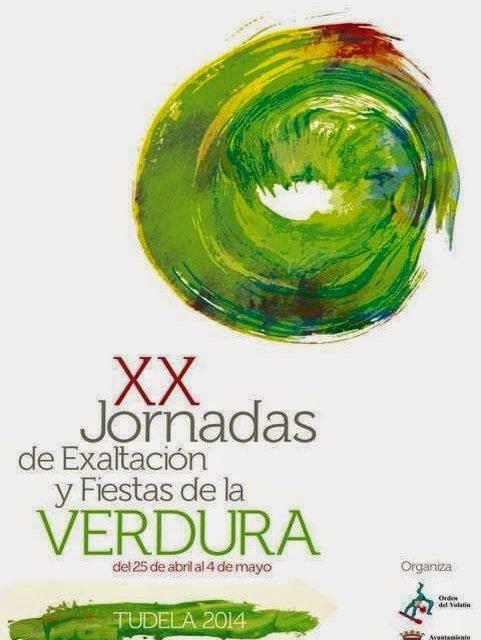 Jornadas de verdura en Tudela (del 25 abril al 4 de mayo)
