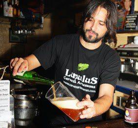 Cata de cervezas artesanas en Juan Sebastián Bar (miércoles de abril)