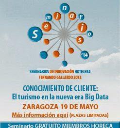 Seminario de turismo impartido por Fernando Gallardo, (lunes 19)