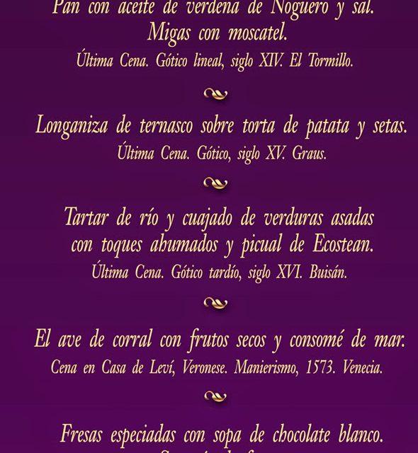 Cena de los banquetes de la historia del arte (viernes, 23)