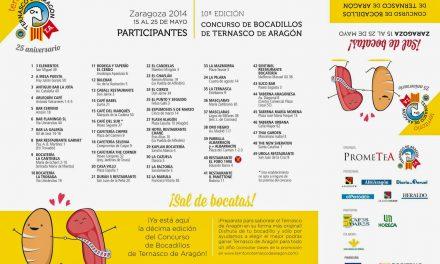 Concurso de bocadillos de Ternasco de Aragón en Zaragoza (del 15 al 25 de mayo)