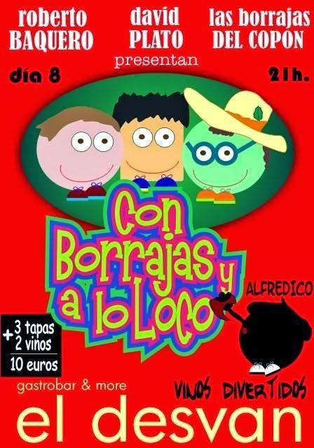 Con borrajas y a lo loco (jueves, 8)