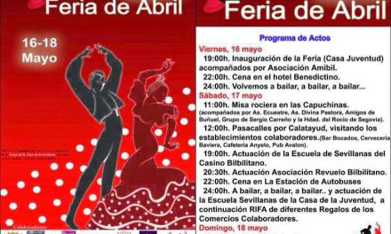 Feria de abril en Calatayud (del 16 al 18)
