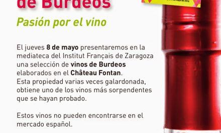 Cata de vinos de Burdeos (jueves, 8 de mayo)