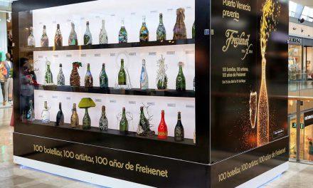 Exposición de cien botellas aragonesas de Freixenet, (hasta el 15 de mayo)