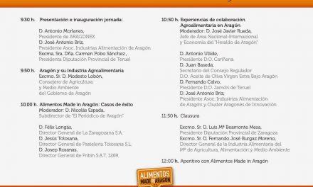 El sector agroalimentario aragonés se promociona en Madrid, (martes, 6 de mayo)