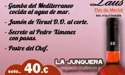Menú de La Junquera (de domingo a jueves noche, mayo)