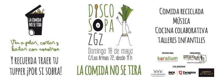 Disco sopa Zaragoza (domingo, 18)