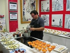 Cursos de cocina en Yáñez (mayo de 2014)