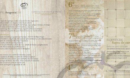 Nueva carta de primavera del restaurante Aragonia