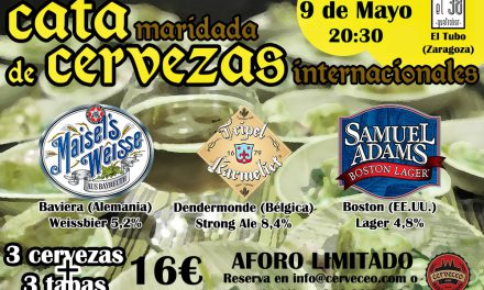 Cata de cervezas de importación (viernes, 9)
