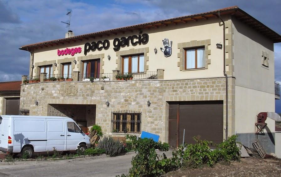 Cata de Bodegas Paco García, (viernes 9)