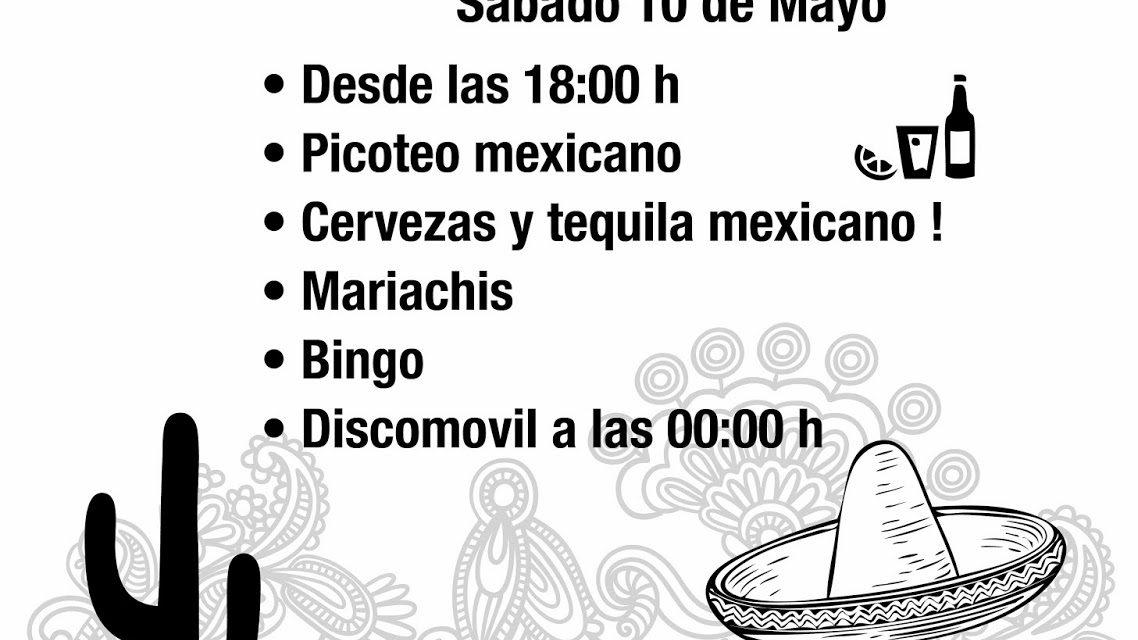 Biscamex: Fiesta mexicana, (sábado 10 de mayo)