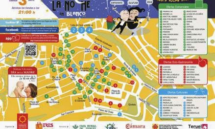 Noche en blanco en Teruel (sábado, 3)