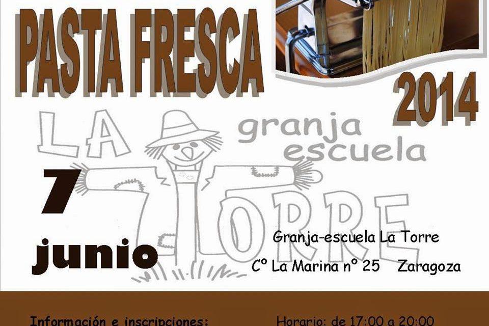 Taller de Elaboración de Pasta Fresca (sábado 7 de junio)