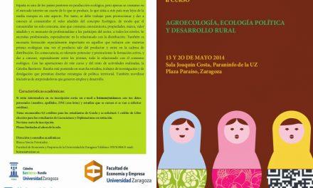 II Curso de Agroecología, Ecología Política y Desarrollo Rural (días 13 y 20)