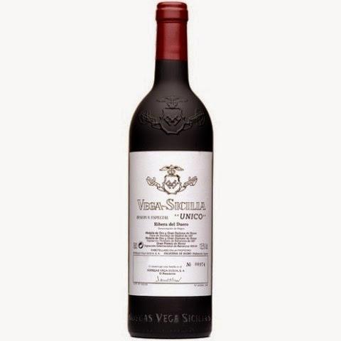 Cata de vinos Vega Sicilia (jueves 29)