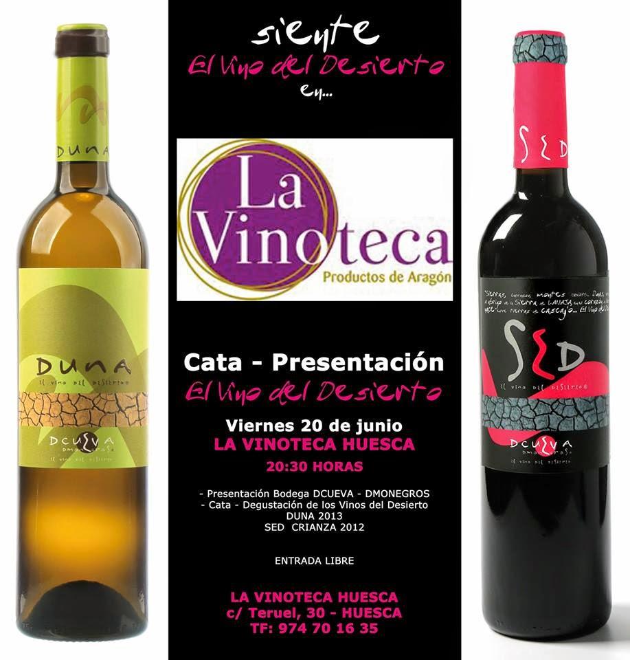 Presentación del vino del Desierto (viernes, 20)