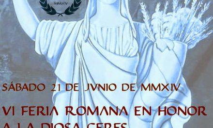 VI Feria Romana en Almonacid de la Cuba (sábado 21)