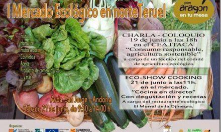 Mercado ecológico (sábado, 21)