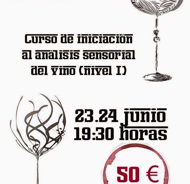 Curso de iniciación al análisis sensorial del vino (lunes 23 y martes 24)