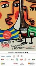 Final XX Concurso de Tapas de Zaragoza (martes 17)
