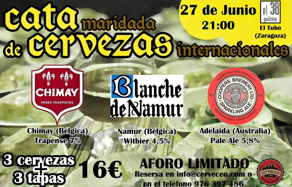 Cata de cervezas de importación (viernes 27)