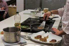 Curso de cocina con premio en Ibercaja Zentrum