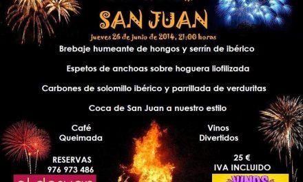 Cena de san Juan (jueves 26)