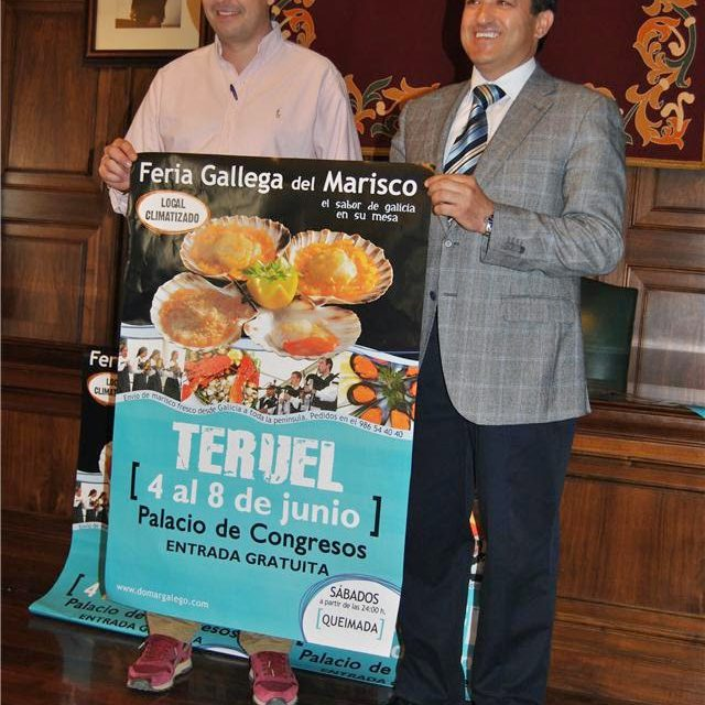 Feria Gallega del Marisco en Teruel (hasta el domingo 8)