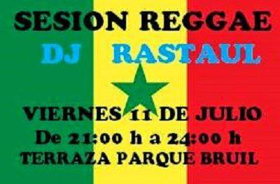 Reggae en la terraza del Parque Bruil (viernes, 18)