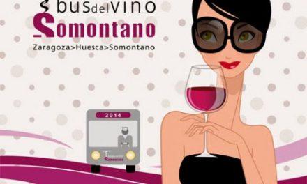 Nuevo viaje del Bus del Vino del Somontano (sábado 19)