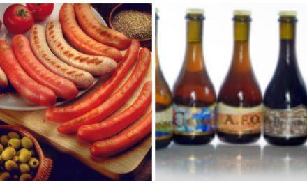 Cata maridada de salchichas y cervezas artesanas (jueves 24)