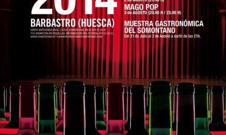 Taller de maridaje del festival Vino Somontano (sábado 26)
