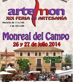 XIX Feria de Artemon, en Monreal del Campo (sábado 26 y domingo 27)