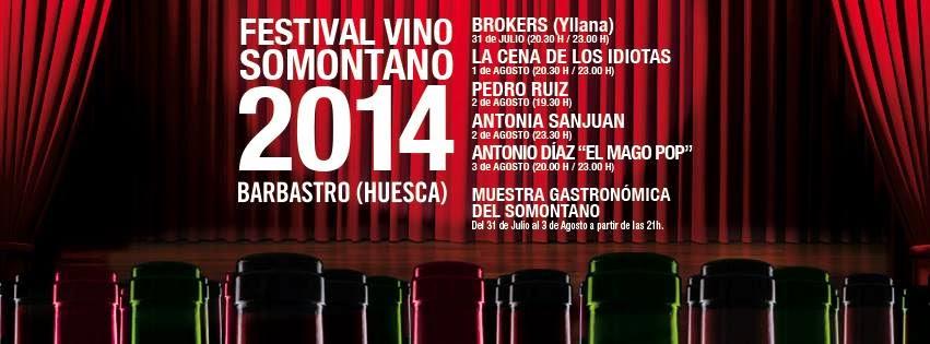 Catas en el Festival Vino Somontano (jueves, 31)