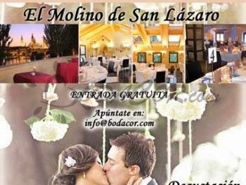 Jornada de puertas abiertas en el Molino de San Lázaro para novios (domingo 6)