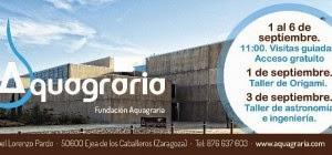 Visitas guiadas a Aquagraria (del 1 al 6)
