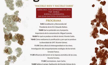 Jornada técnica en el Campo de Borja (miércoles, 3 de septiembre)