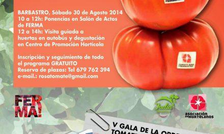 II Congreso nacional del tomate rosa de Barbastro (sábado, 30)